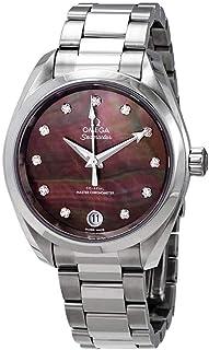 Omega - Seamaster Aqua Terra reloj automático cronómetro diamante para mujer 220.10.34.20.57.001