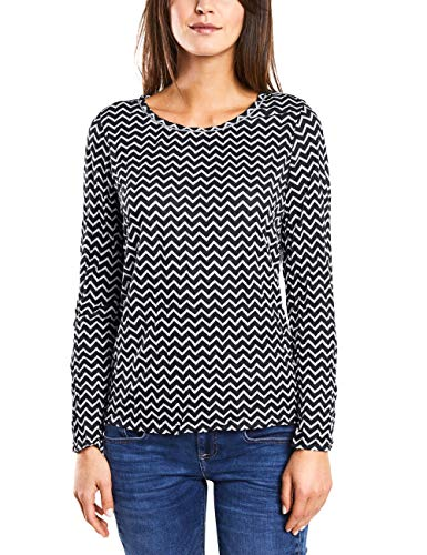 Street One 312888 Camisa Manga Larga, (Off White 20108), 42 (Talla del Fabricante: 40) para Mujer