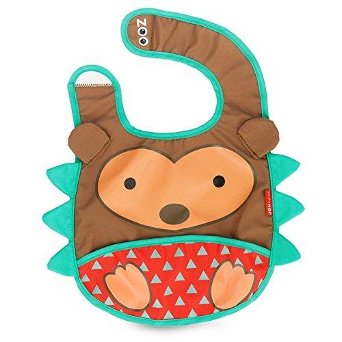 Skip Hop Zoo - Babero, diseño hedgehog, multicolor
