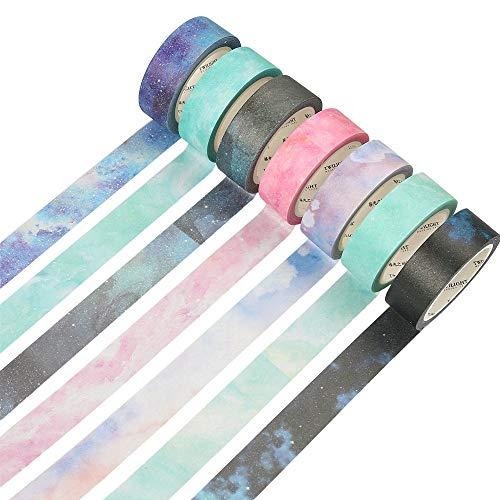 Molshine japanisches, bunt bedrucktes Klebeband, in verschieden Farben und Ausführungen erhältlich 7-534