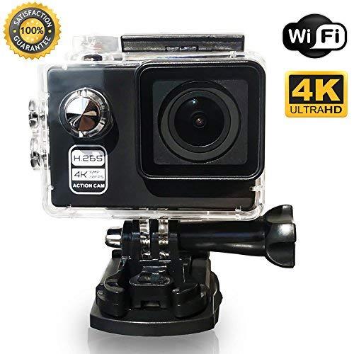 Action Cam 4K Wi-Fi 16MP Ultra