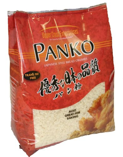 Upper Crust Enterprises, Panko (Japanese Style Bread Crumb), 24-Ounce Bags (Pack of 6)