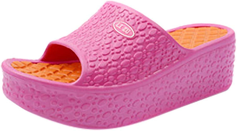 Btrada Summer Women Slippers Fashion Platform Slides Beach Slippers Female Casual Mixed colors Sandals
