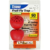 2-Pack Terro T2502 Fruit Fly Trap