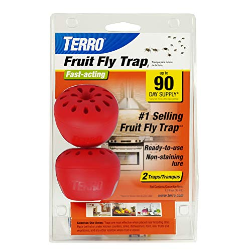 TERRO T2502 Fruit Fly Trap – 2 Pack Now $5.88 (Was $10.45)