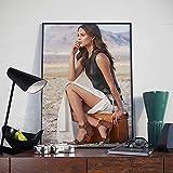 LWJPD Cuadro sobre Lienzo 30x45cm Sin Marco Película Tomb Raider Alicia Vikander Cartel Pared Arte Impresión Baño Imagen Oficina Vintage Bar