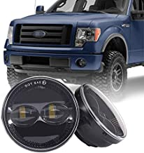 Tecoom Fog Lights Set of 2 for Ford F150 Ranger Expedition Approved by DOT SEA Waterproof Bright 2000 lumen LED Fog Driving Light Road Off Lights
