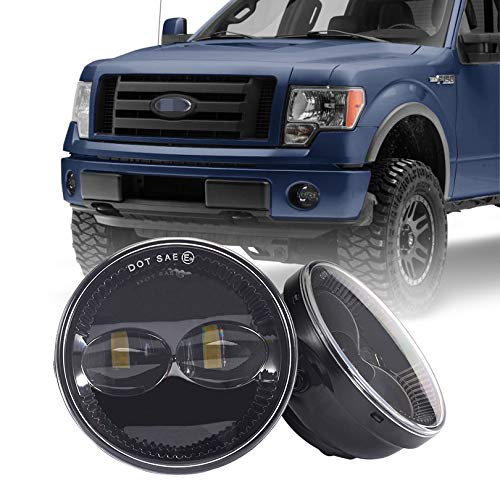 Tecoom Fog Lights Set of 2 for Compatible with Ford F150 Ranger Expedition Approved by DOT SEA Waterproof Bright 2000 lumen LED Fog...