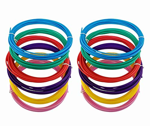 Filamento per penna 3D per XXX Start, ricarica filamento di ricambio (12 rotoli-U)