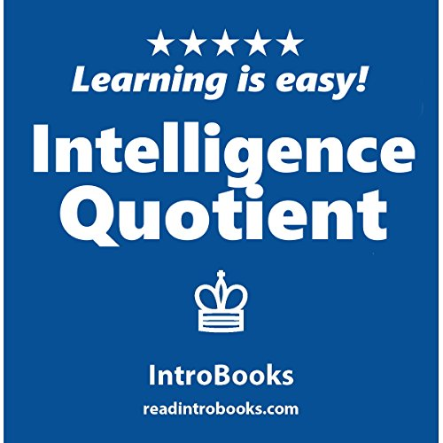 Intelligence Quotient audiobook cover art