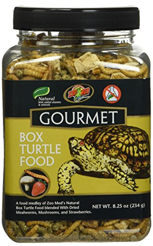 Gourmet Box Turtle Food Net Wt 8.25oz (254g)