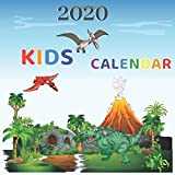 Kids Calendar 2020: Dinosaurs Activity Book For Kids Awesome & Fun Coloring Activities