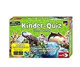 Noris 606011629 Kinder-Quiz Tiere und Natur, der Familen-Spielspaß für Zuhause oder unterwegs, für 1-6 Spieler ab 6 Jahren