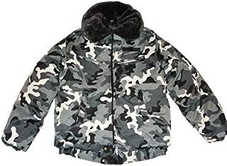 Modern Russian Military Winter Camo Jacket Uniform Snow Area Size XLarge XL or 52