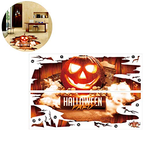Pegatina de suelo o pared de calabaza- Wall Sticker