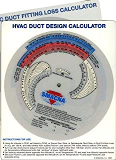 SMACNA Duct System Calculator