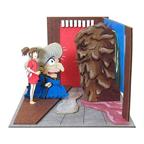 さんけい スタジオジブリmini 千と千尋の神隠し オクサレさま来たる ノンスケール ペーパークラフト MP07-73