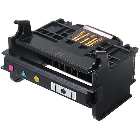 Aibecy - Testina di stampa con 4-Slot, 90 x 80 x 60 mm, per HP OfficeJet 920/6500/6000/6500A, colore: nero