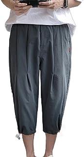 Hokny TD Men 3/4 Jogger Capri Pants Workout Gym Below Knee Shorts