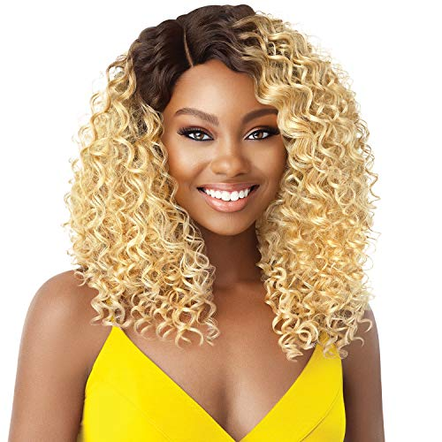 Outre Synthetic Hair Lace Front Wig The Daily Wig Hand-Tied Lace Part Wig Deandra (DRHNAB)