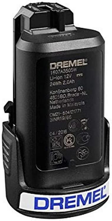 Dremel 26150880ja batería de litio para Multi-Tool rotativo 880, 12V, Negro