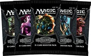 5 (Five) Packs of Magic the Gathering - MTG: 2013 Core Set Booster Pack Lot (5 Packs)