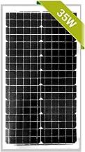 Newpowa 30W Poly/35W Mono Solar Panel 12V RV Marine Boat Off Grid (35W Mono)
