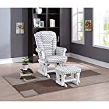 Naomi Home Deluxe Multiposition Sleigh Glider and Ottoman...