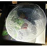 高級曽我ガラスSOGA GLASSデザート清涼感あふれるガラスプレート2枚 グランピングおしゃれキャンプに コレクション。