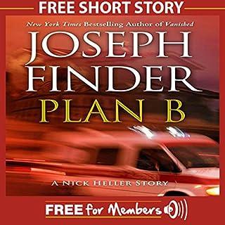 Plan B: A Nick Heller Story audiobook cover art