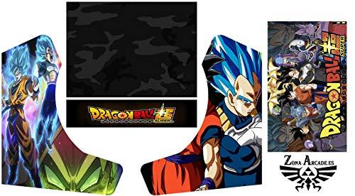Zona Arcade Vinilo para recreativa bartop (Dragon Ball Super)