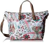 Oilily Damen Picnic Handbag Lhz Henkeltasche, Grau (lightgrey), 15x30x45 cm