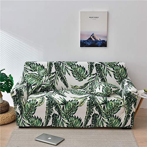Funda de sofá elástica Floral para Sala de Estar Funda Protectora de sofá Funda de sofá elástica a Prueba de Polvo y Lavable sofá Cama A24 1 Plaza