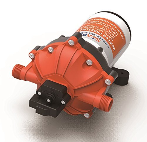 SEAFLO 12V 5.5 GPM 60 PSI Water Pressure Diaphragm Pump with NPT Fittings