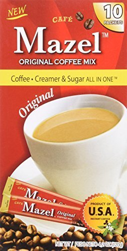 Mazel All items free shipping Original Coffee Mix: Creamer in All One Sugar Seattle Mall 3-