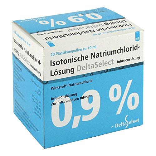 Kochsalzl�sung 0,9% Plastik, 20X10 ml