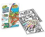 Crayola - Color Wonder, Coloring Set con 18 páginas para colorear y 5 rotuladores sin manchas, diseño de amigos de los dinosaurios, multicolor, 75-7129