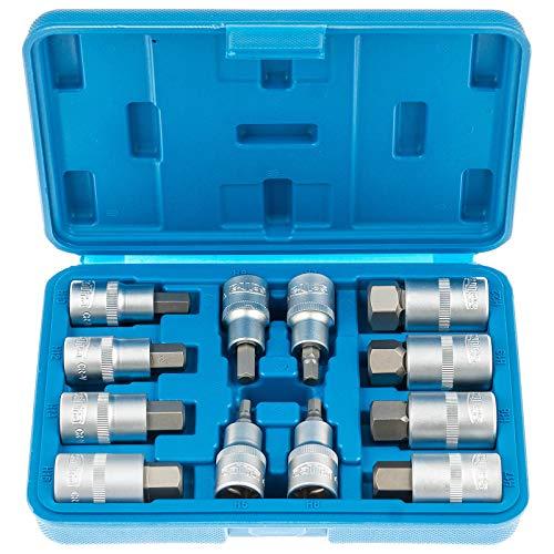 Satra S-SH1212 | Innensechskant 5-22 mm Steckschlüssel Satz 1/2 für Inbus