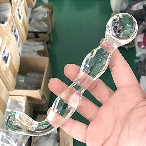 JMBF Herramienta para Mujer De Cristal Transparente De 17 Cm