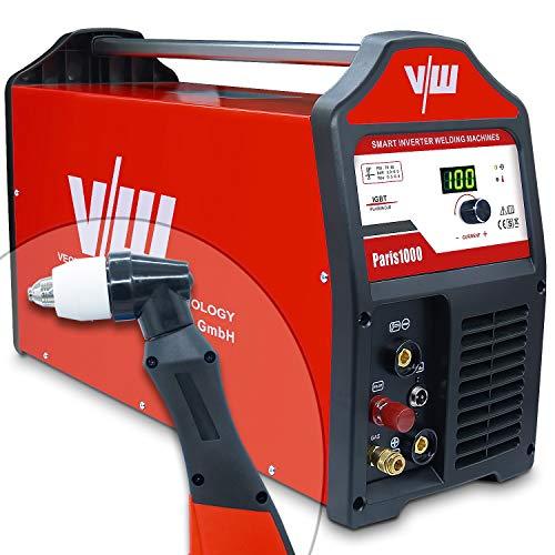 Plasmaschneider Plasmaschneidgerät Plasmacutter Plasma Cut Cutter mit 100 Ampere | Schneidet bis 40 mm - Pilotzündung (Kontaktlos) - digi. Anzeigendisplay - 400 Volt - von Vector Welding