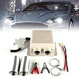 Honeyhouse - Riscaldamento per auto, 600 W/800 W, termoventilatore per auto, 12 – 24 V