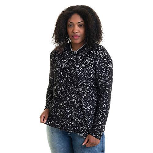 Cardigan Feminino Básico Plus Size 1602