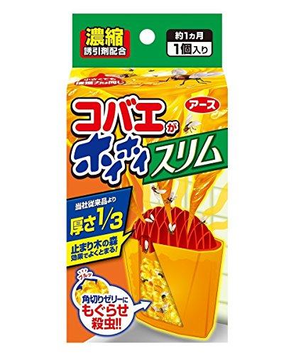 【セット品】アース製薬 コバエがホイホイ スリム 1個【×2箱】