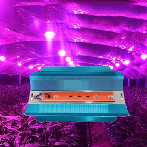 Uonlytech LED Plant Grow Light, Full Spectrum LED Greenhouse Lights for Indoor Plants (1Pcs,50W)