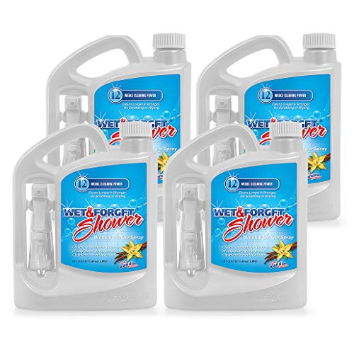 Wet & Forget Weekly Shower Cleaner Spray 64 oz - 4 Pack