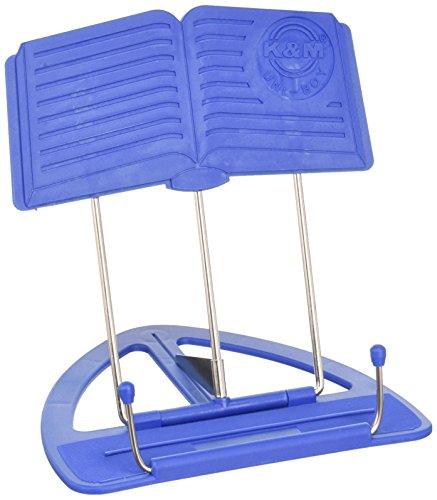 König & Meyer UniBoy Classic sujetalibros Azul De plástico – Sujetalibros