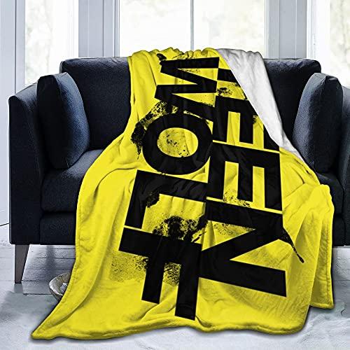 Adolescente Tv Wolf Franela Manta Ropa de cama Manta de forro polar Suave Thow Mantas Aire Acondicionado Manta Para Sofá Sofá Sala Dormitorio
