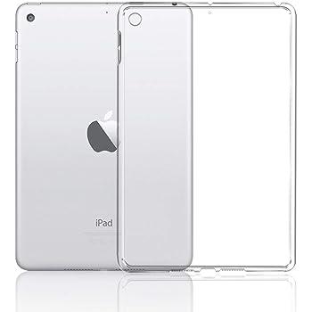 A-VIDET iPad mini 5 ケース 衝撃吸収バンパー アンチスクラッチ クリスタル ソフト TPU素材製 iPad mini5 ケース SIMフリー Wi-Fi+Cellular 64GB+256GB 2019年春モデル 7.9型タブレット「iPad mini」の第5世代モデル 対応 iPad mini ケース (クリア)