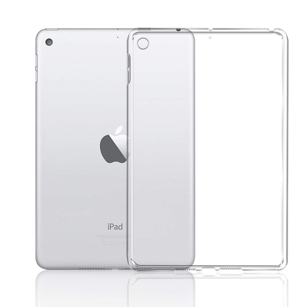 AVIDET 아이패드 미니5 투명 케이스 커버 A-VIDET for iPad Mini 5 Case, Crystal Clear Soft Thin Anti-Scratches Cover Compatible for iPad Mini 5 2019 Tablet (Transparent)