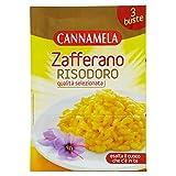 CANNAMELA - ZAFFERANO RISODORO BUSTONA DA 3 BUSTINE PRETAGLIATE, 0.1GX3 - 3 DG